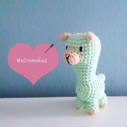 I find that #alpacas are super #cute  #amigurumi #crochet #alpaca #elinmakes #softie #socute #hobby #handmade #DIY #craft #craftgeek #mint