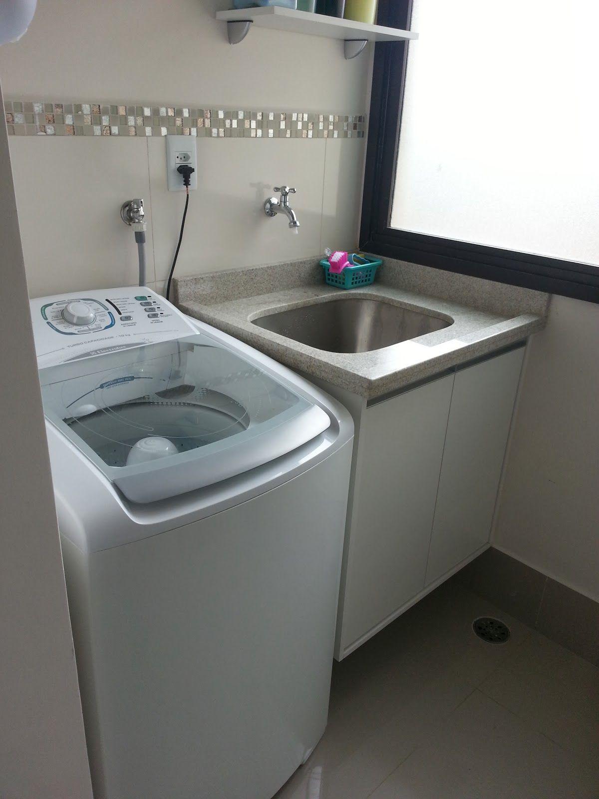 Area de servi o com tanque e maquina de lavar pesquisa - Armarios para casas pequenas ...