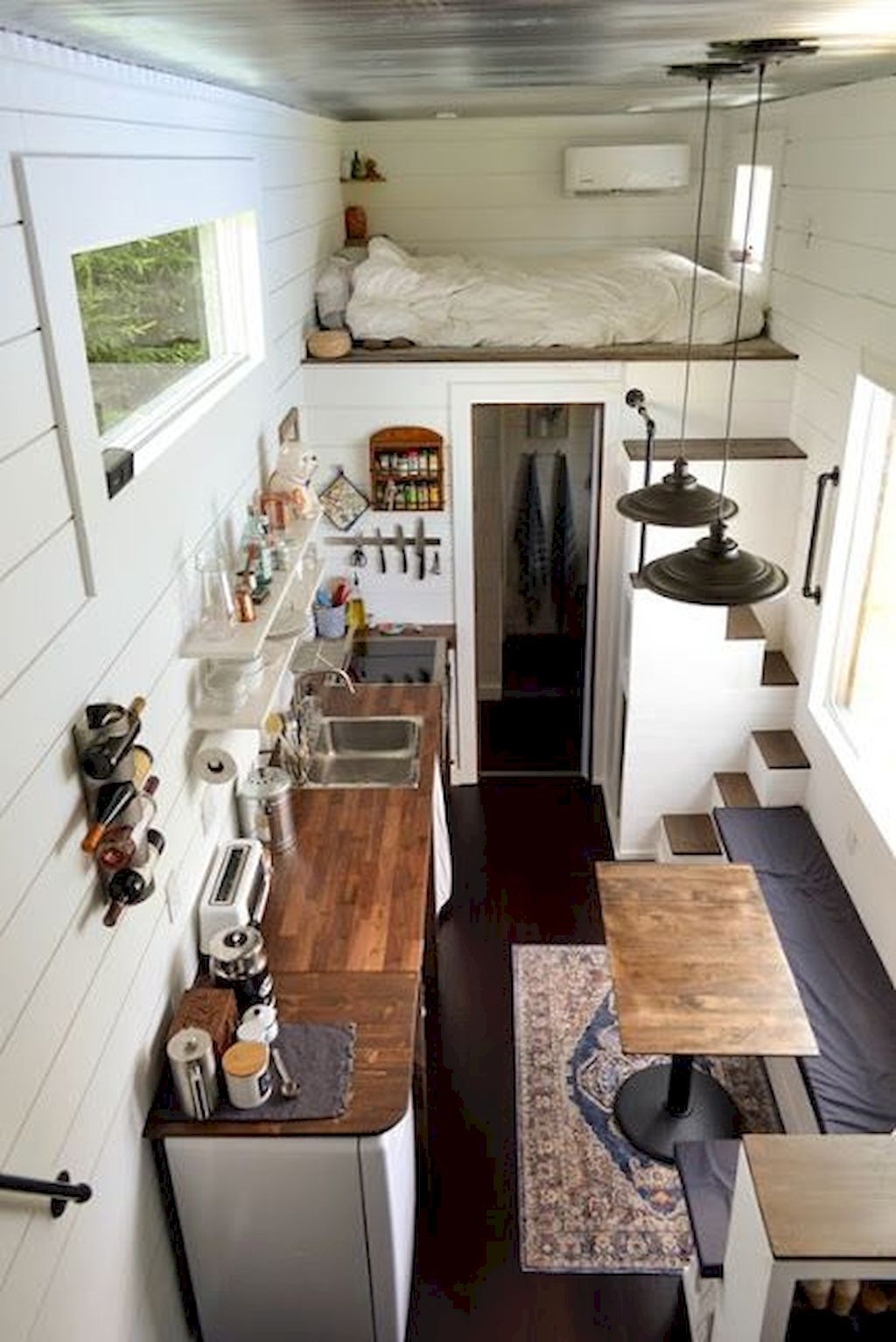 70 Clever Tiny House Interior Design Ideas Tiny House Loft Tiny