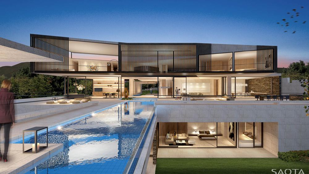 20 Casas Luxuosas E Modernas Do Escritório Saota! Confira Detalhes!   Decor  Salteado   Blog De Decoração E Arquitetura
