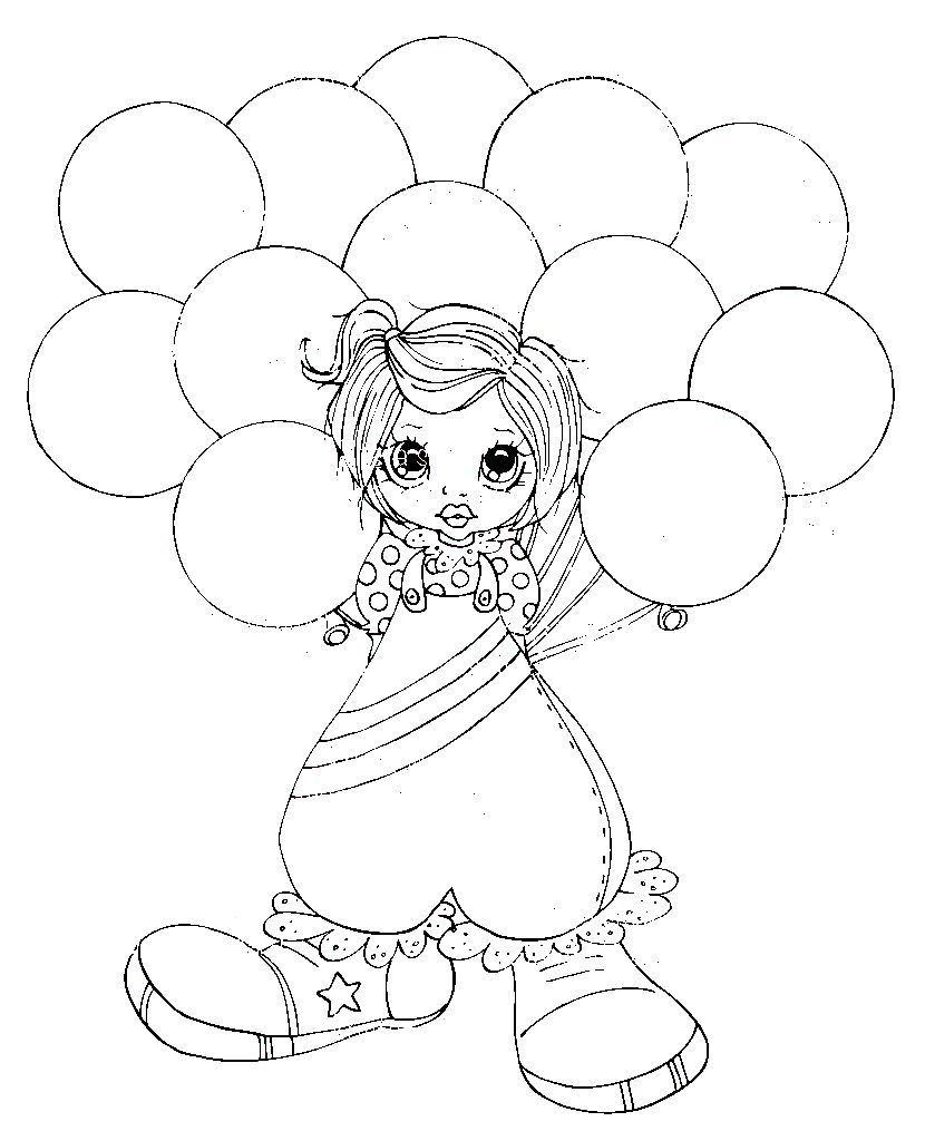 Ava F Digital Stamps Coloring Pages Digi Stamps