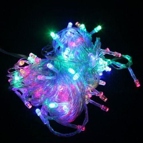 100 LED Multifunction Indoor Outdoor Wedding Party Patio Window Fairy String Dorm Lights - 32ft (Rainbow) HDE http://www.amazon.com/dp/B00GWRR4JA/ref=cm_sw_r_pi_dp_q32wwb0GY0GKQ