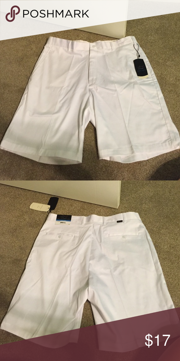 Greg Norman Comfort Stretch Shorts 33w• slim fit• style number S6SA40• Greg Norman Shorts