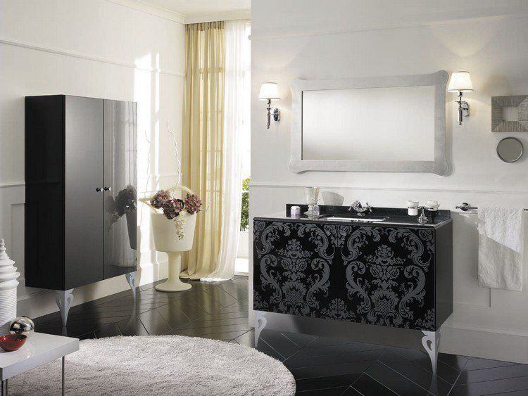 salle de bain baroque - 26 idées de meubles extraordinaires ... - Meubles Baroques Design