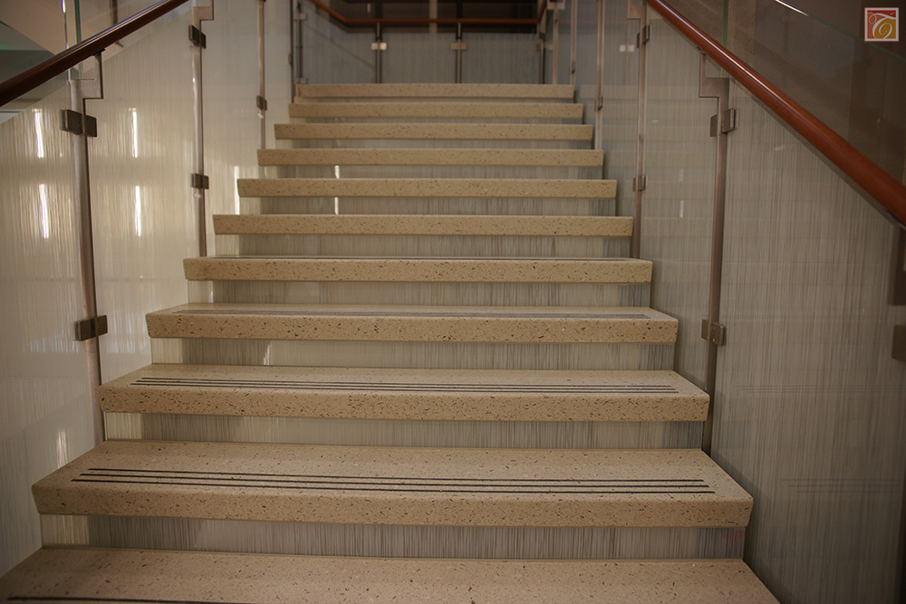 Flat Stair Treads Come In A Variety Of Thicknesses And Lengths. Precast  Terrazzo Stairs Are