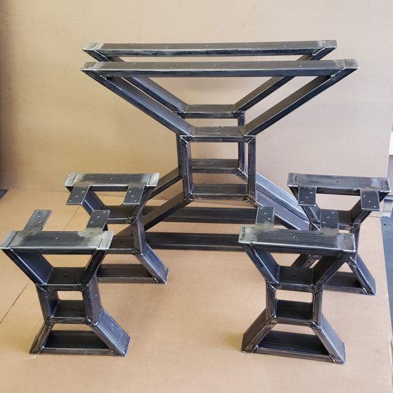 Conjunto de mesa comedor X patas moderno 2 y 4 patas de banco X ...