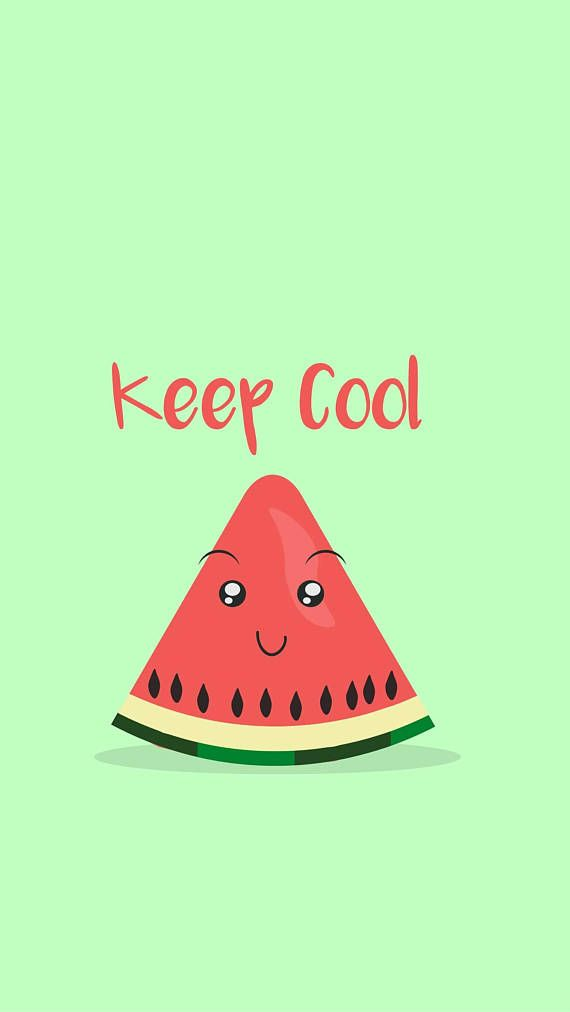 Keep Cool 5s Iphone Wallpapers Iphone Watermelon Phone