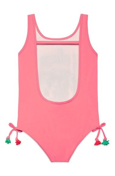 b5caaf9271 Main Image - Gucci Graphic One-Piece Swimsuit (Little Girls   Big Girls)