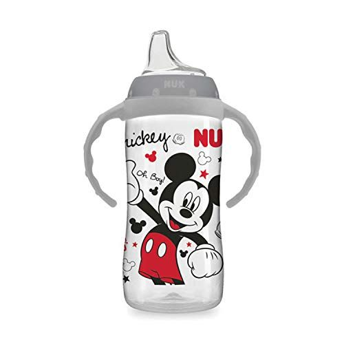 NUK Disney Large Learner Sippy Cup, Mickey Mouse, 10oz 1pk #disneycups