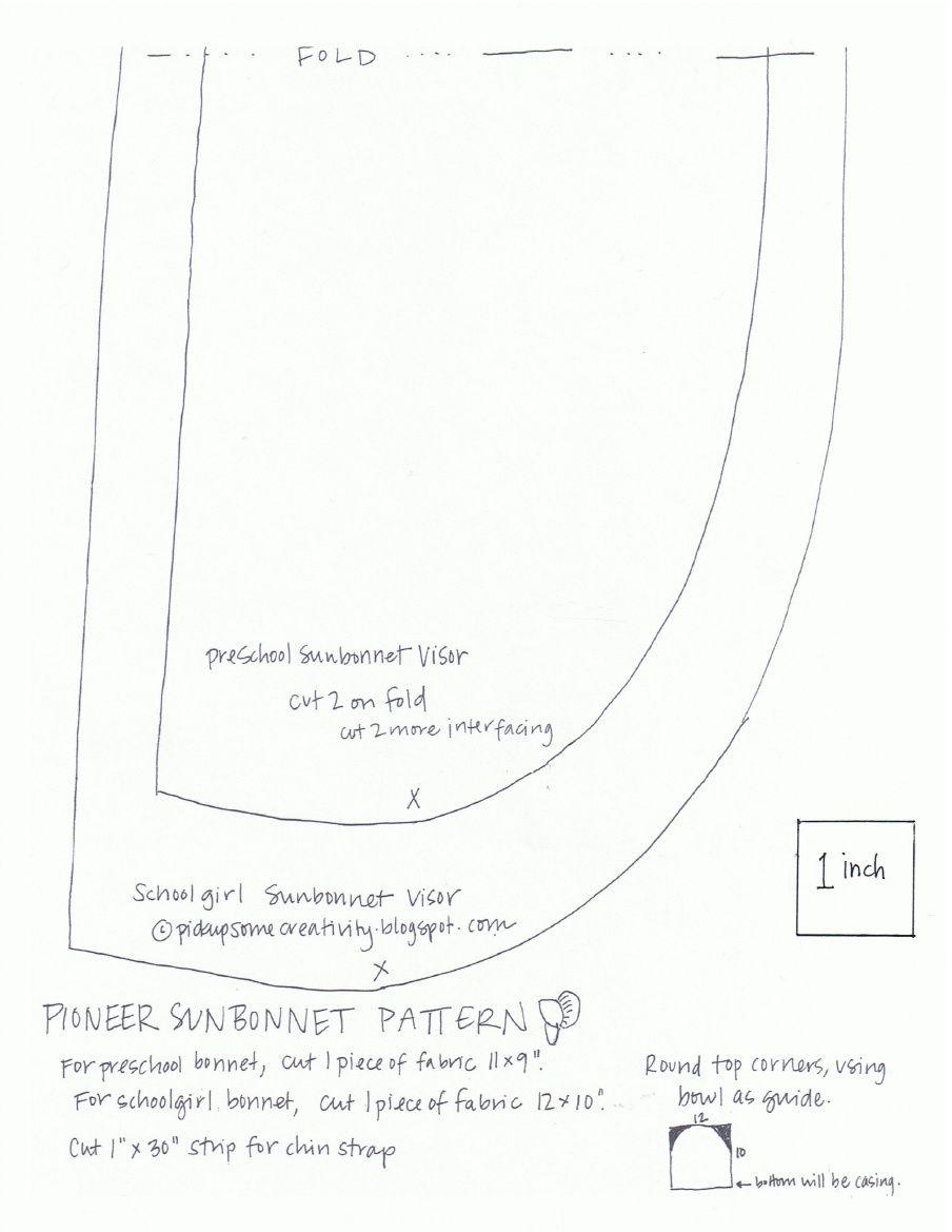 Sunbonnet Pattern | Patrones | Pinterest