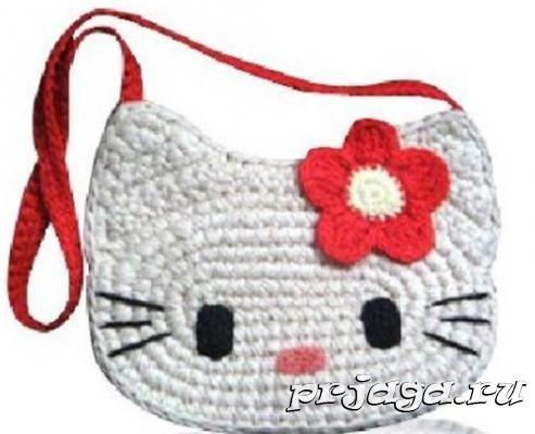045570618706 детская сумочка крючком | Вязание | Crochet for kids, Crochet purses ...