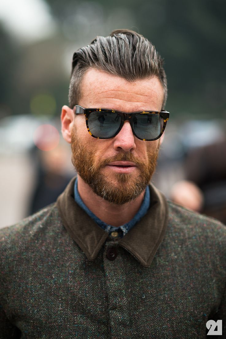 Hairstyles for men with beards cool men the original ray ban aviator