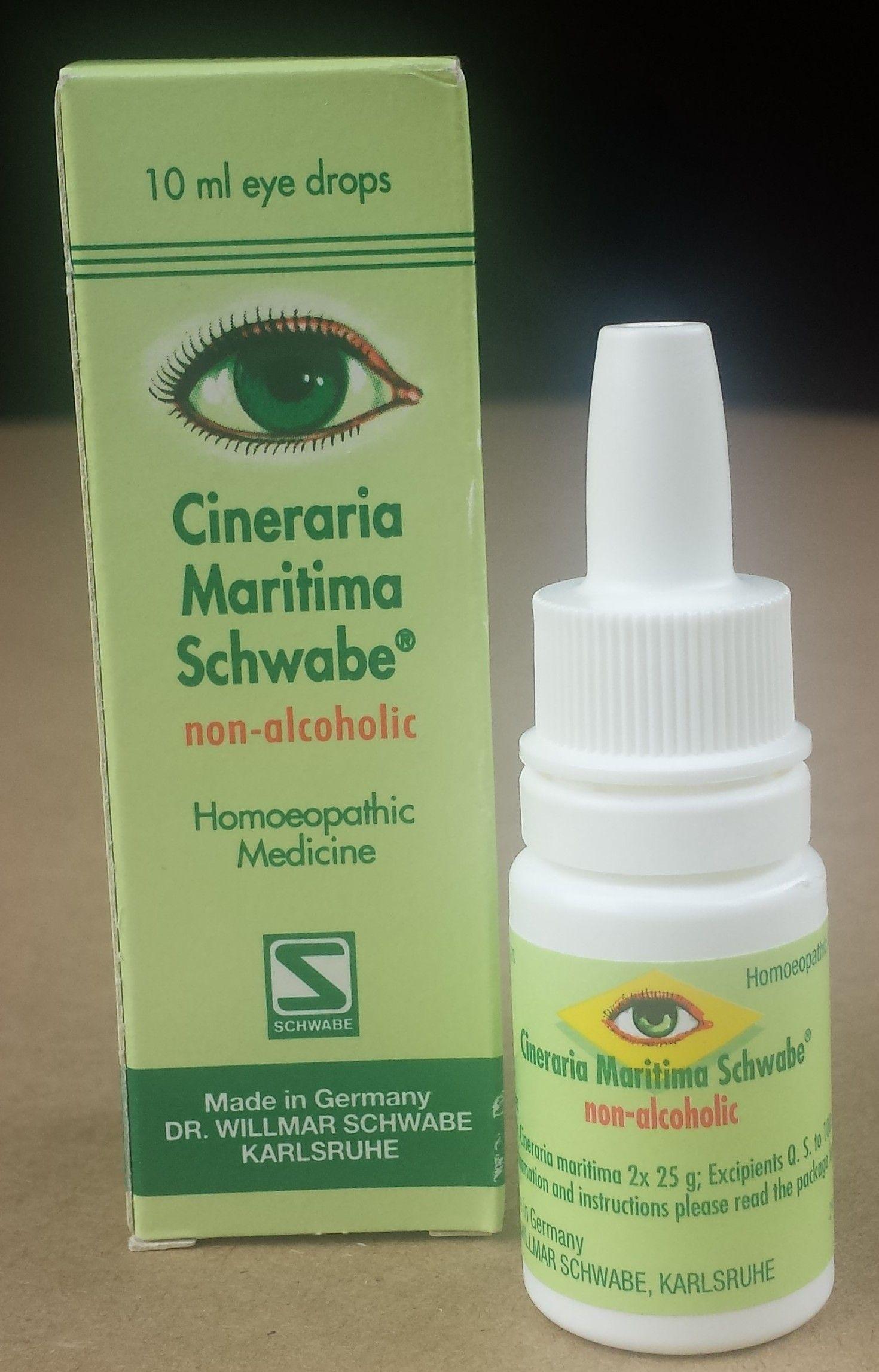 Cineraria – Eye Tonic | Cineraria-Eye Drops | Eye drops, Non