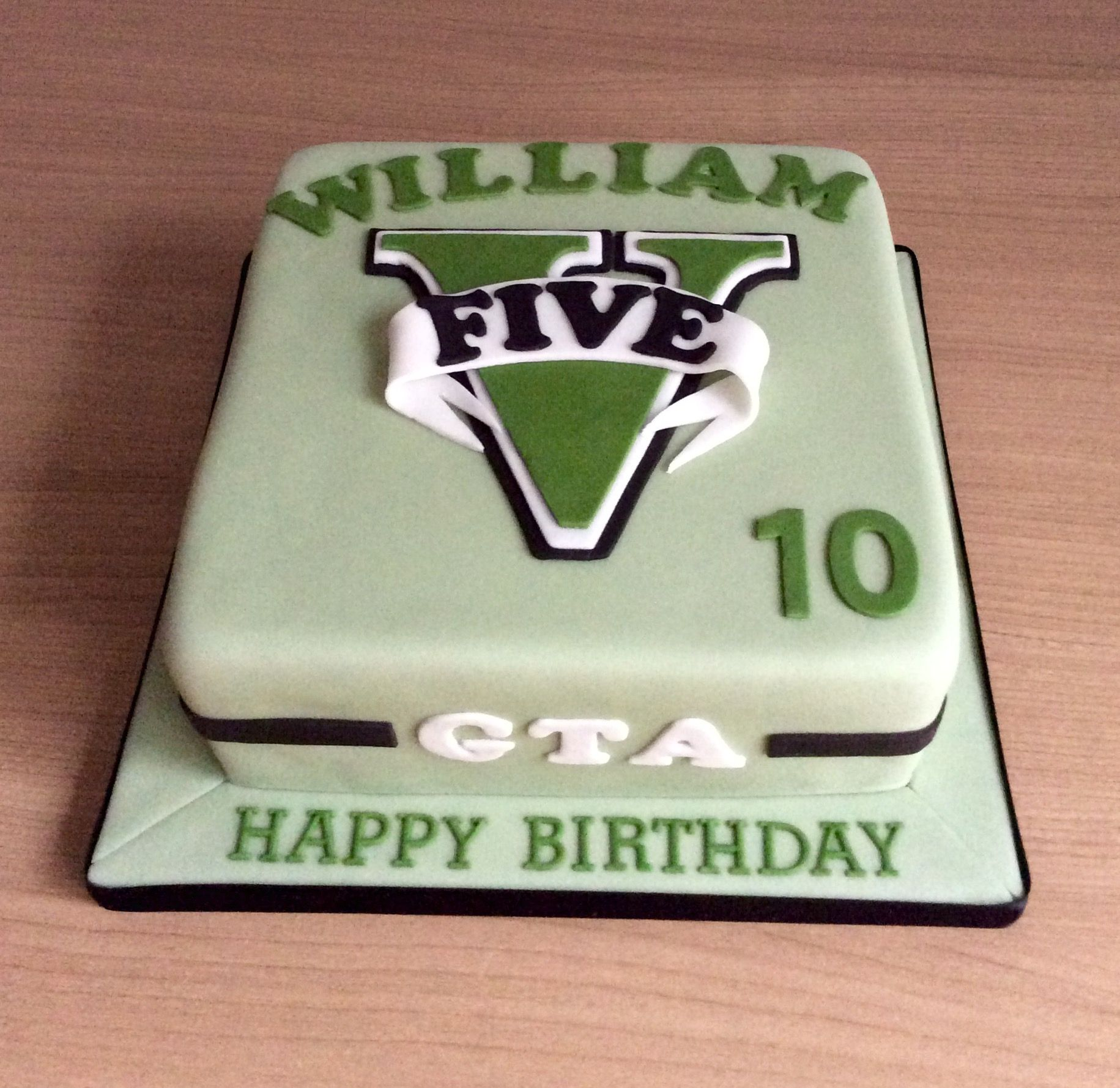 Grand Theft Auto Birthday Cake Beginner Soap