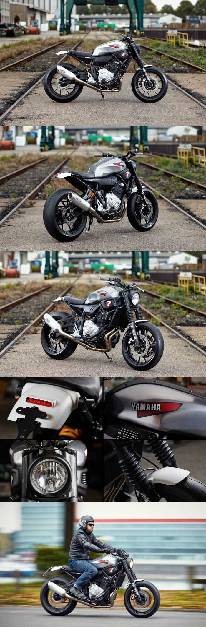 JVB MOTO XSR700 SUPER 7