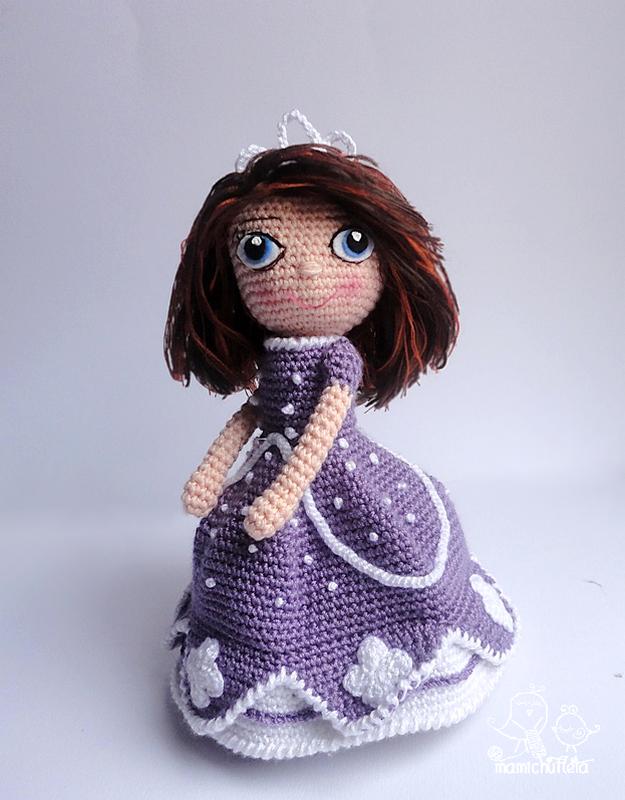 Muñeca amigurumi _Sofía_ (materiales) - YouTube (con imágenes ... | 800x625