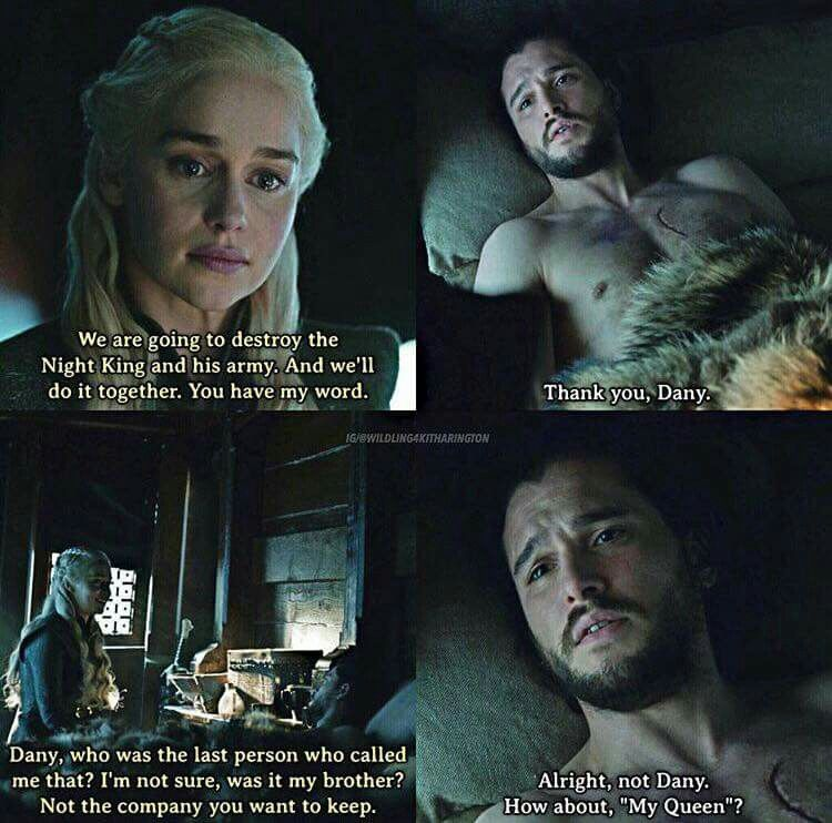 My queen ♡♡ Game of thrones quotes, Game of thrones tv