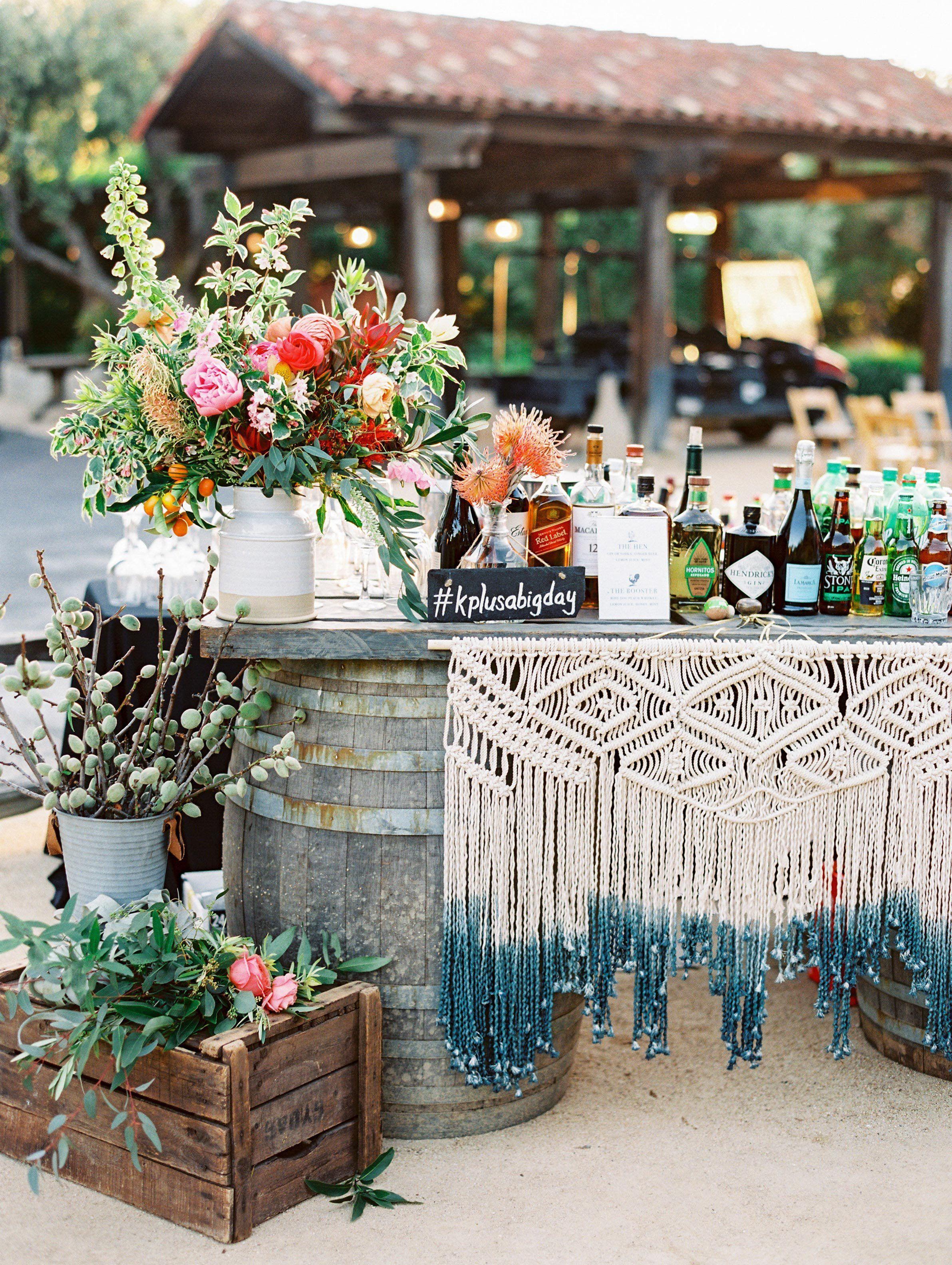 A Wedding Trend Were Loving: Macramé Decorations