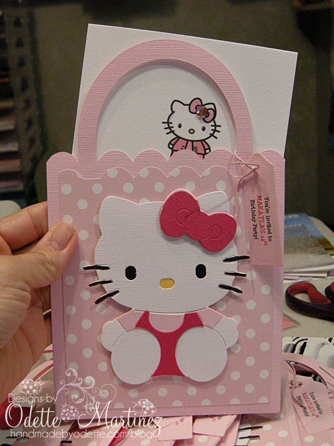 Maries Manor Hello Kitty: Hello Kitty InvitationsTap The Link To Check Out Great Cat