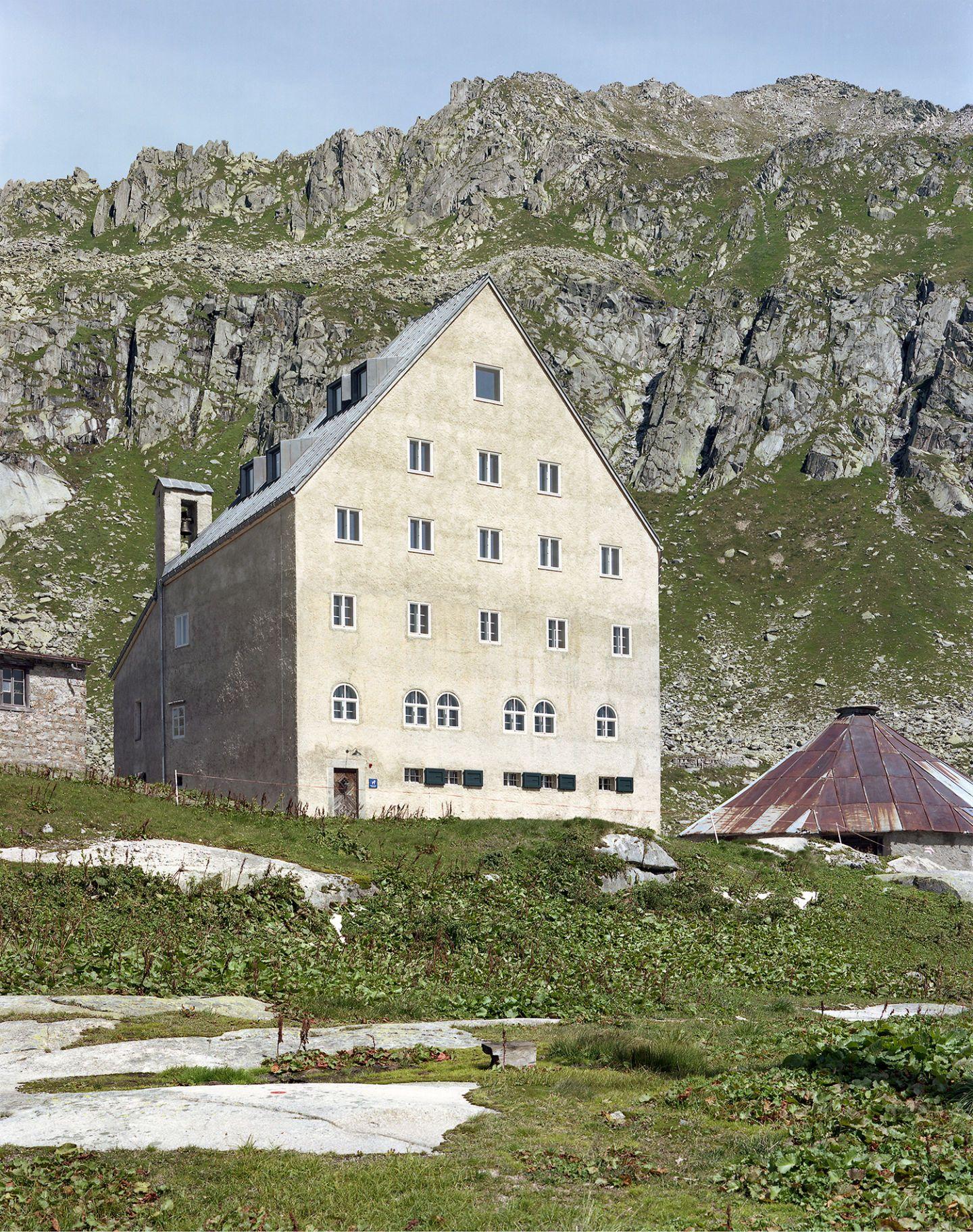 St Gotthard Hospiz miller maranta ruedi walti renovation and extention hospice