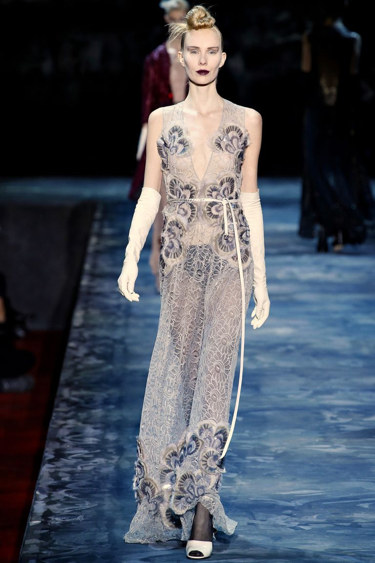 Marc Jacobs Fall 2015 RTW - Worn by Gwendoline Christie at the