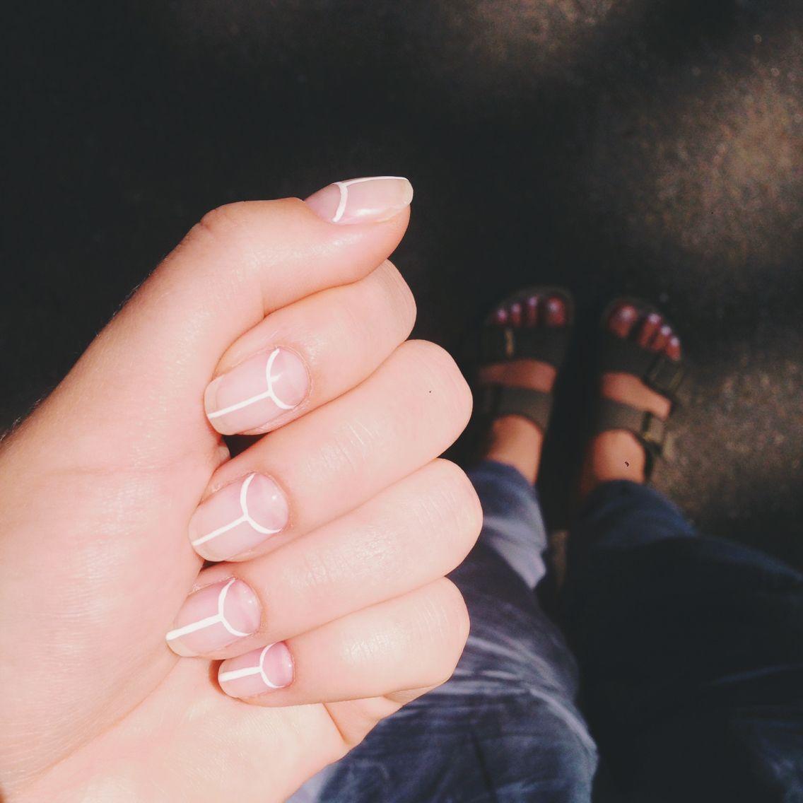lazy girl nails