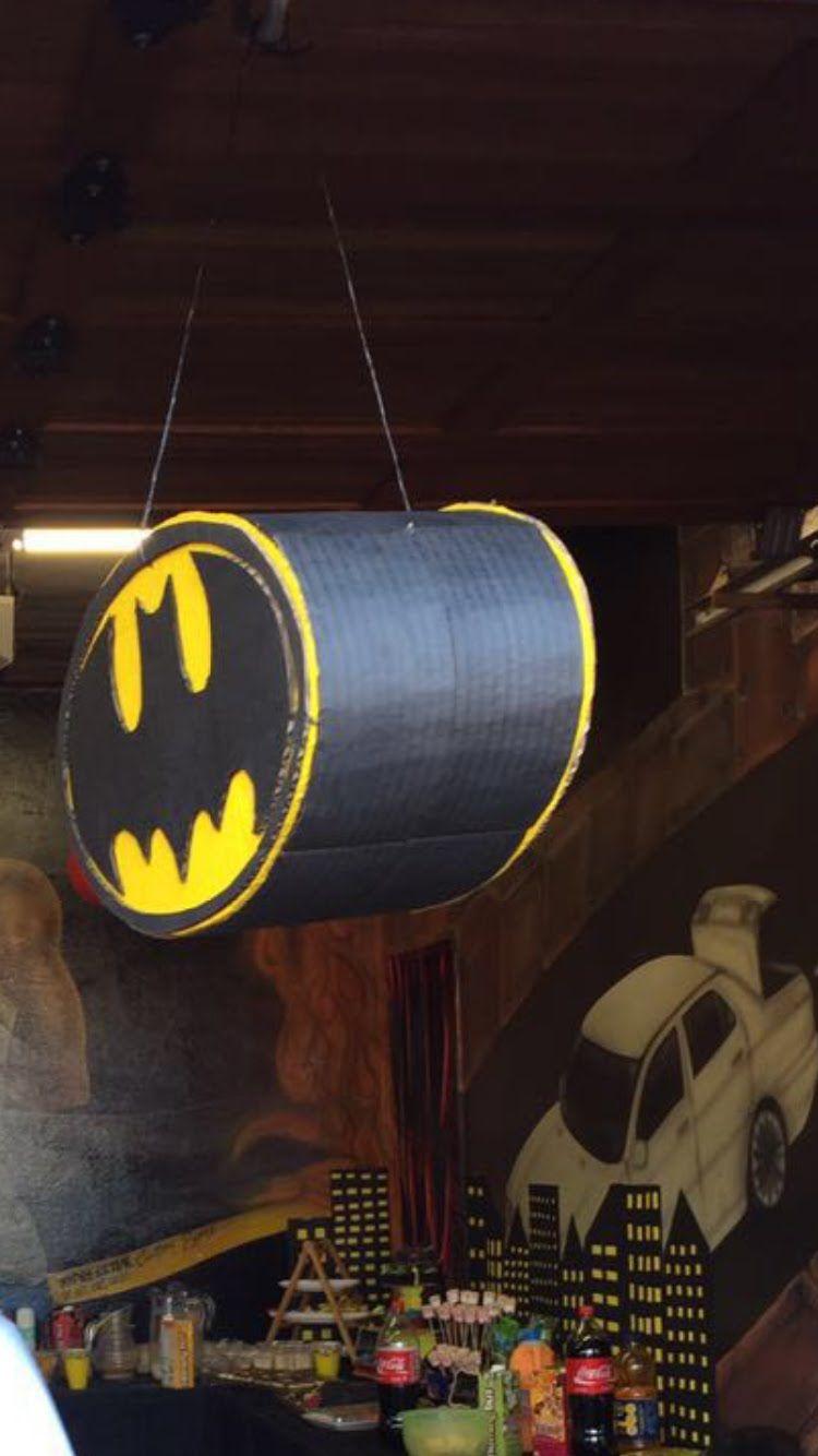Diy Batman Pinata No Paper Mache Batman Batman