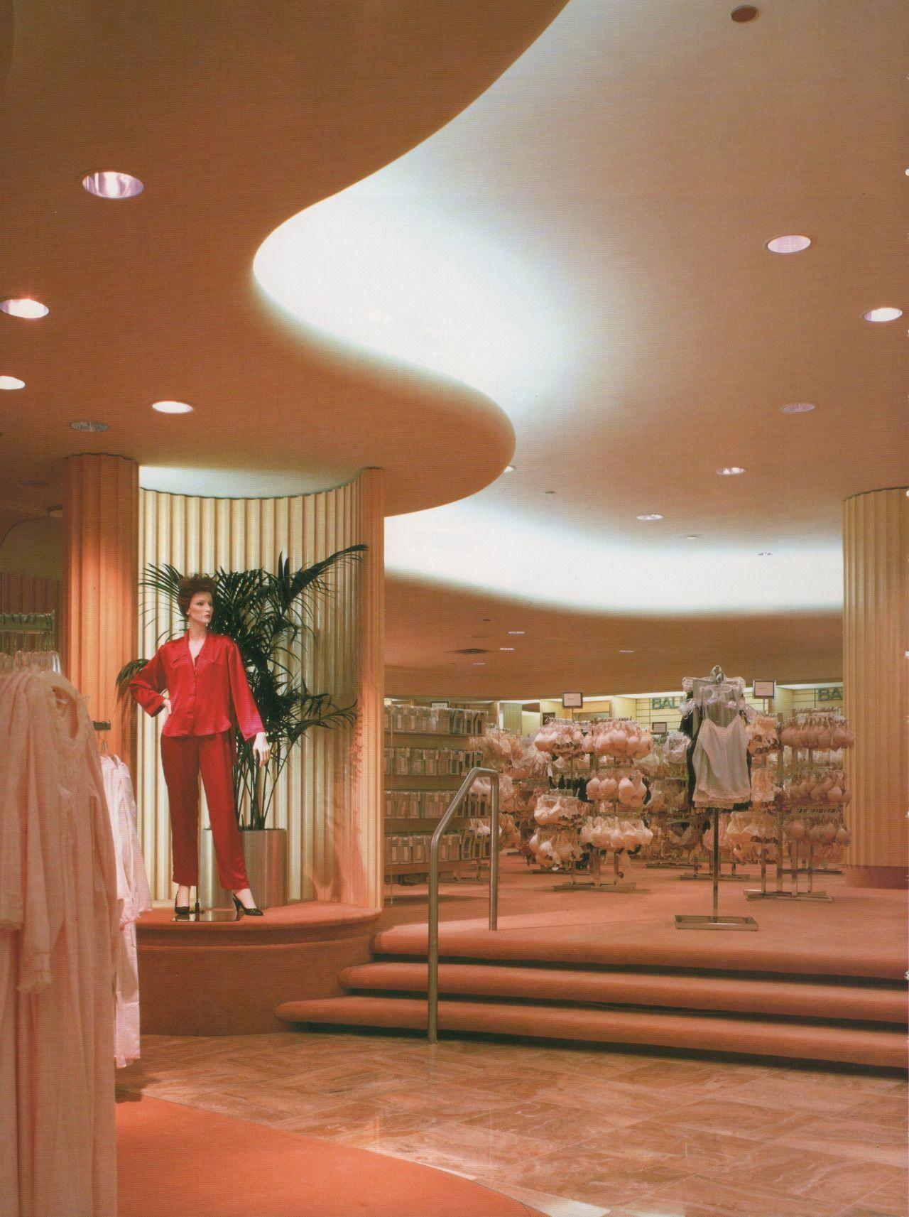 Palmandlaser Macyss Galleria Dallas Texas From The Best Of Designs 1987 Bestinteriordesignschools