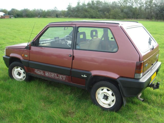 Old fiat panda 4x4 sisley dreams fiat panda fiat cars for Panda 4x4 sisley off road
