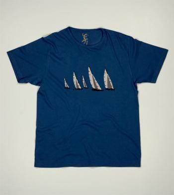 Camiseta Regata #pounou primavera verano 2014 algodon manga corta menorca baleares islas estilo mediterraneo