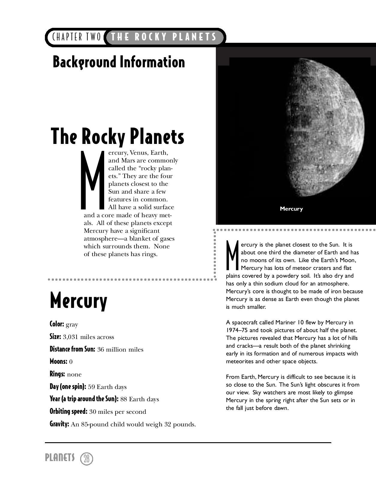 This Printable Science Activity Sheet Explores The