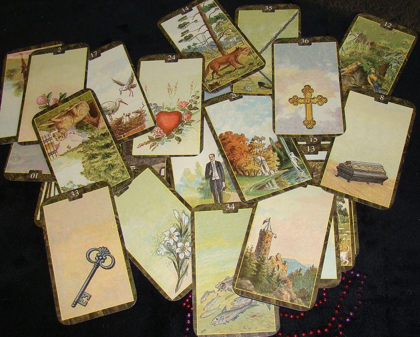 Карты таро ленорман картинка
