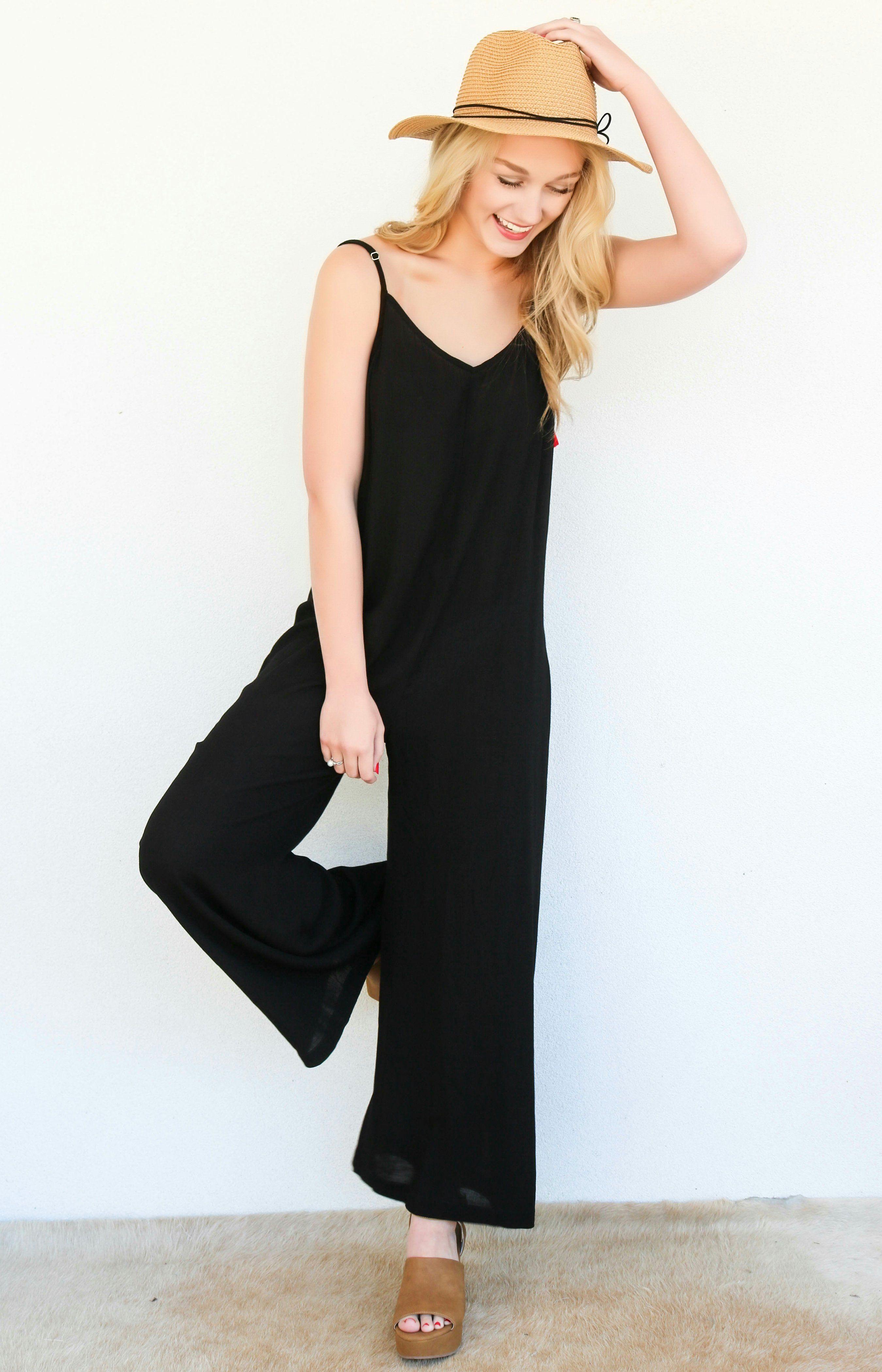 c554fe10202 Show Me Your Mumu  Leila Tassel Jumpsuit - Black Cruise