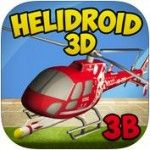 Helidroid 3D - Helidroid 3D, from MH Production, is a terrific game that lets you get as high as you want without leaving your living room. This game puts you straight into the pilot seat, and has you soaring, chasing birds, firing missiles and navigating mission after mission of sheer excitement. Click the image for our full review.