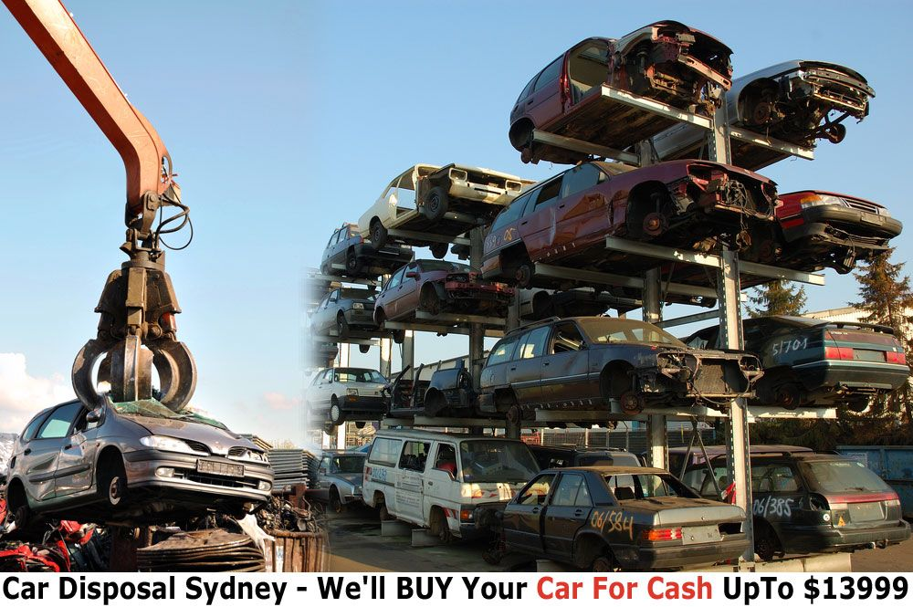 At scrap car disposal sydney we take care of all your
