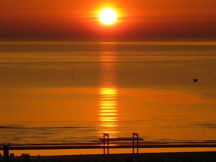 Miramare Sunrise Above The Sea By Viscardo Dallari