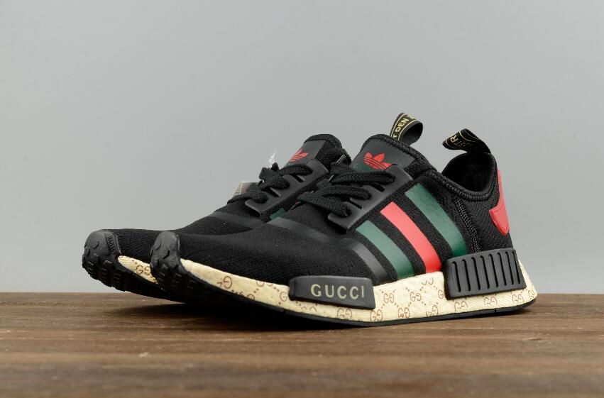 purchase cheap 89fc5 ca5bf Buy Best Authentic Adidas Originals NMD X Gucci Black S70166 Joint Real  Boost Sport Shoes   36-45