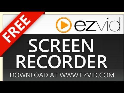 Ezvid screen recorder download