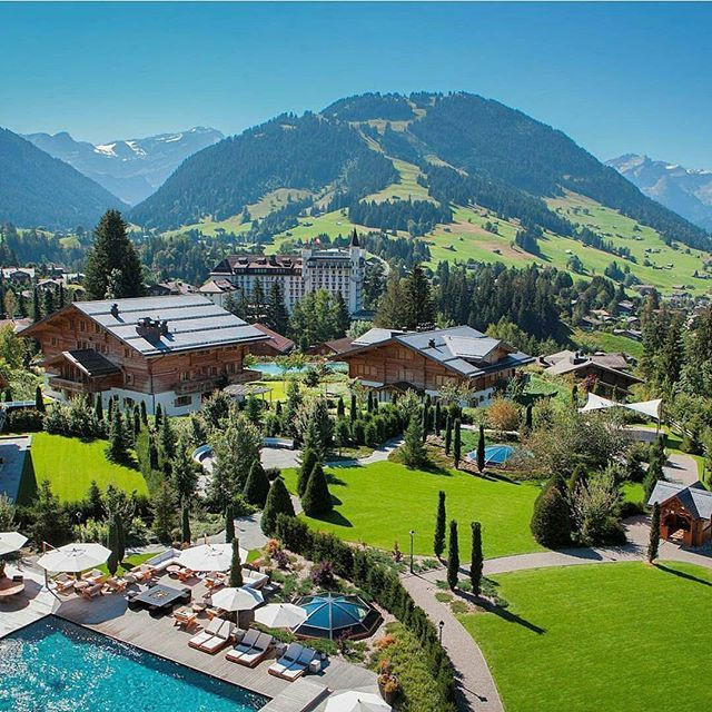 Alpina Gstaad Hotel #switzerland #myvillas