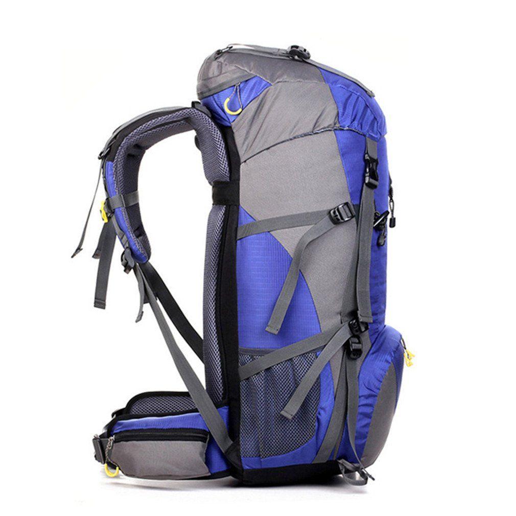 9676bd1d161e KEXKL Waterproof Travel Hiking Backpack 50L Sports Bag For Women Men ...