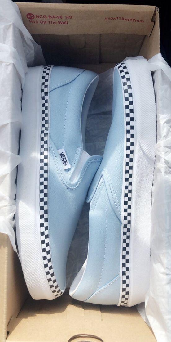 Vans Slip On Chex Skate Shoe in 2019