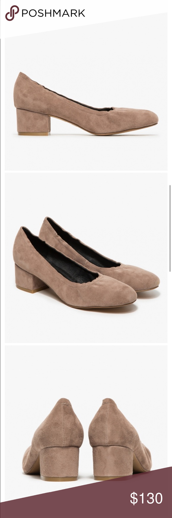 🎉HOST PICK!🎉Jeffrey Campbell Taupe Suede Heels Jeffrey Campbell Taupe Suede Heels.  Like new.  A classic, soft suede heel, features round toe, and leather lining. Jeffrey Campbell Shoes Heels