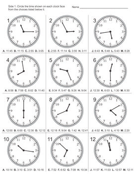 Paper Watch For Teaching Time  Google Search  Math