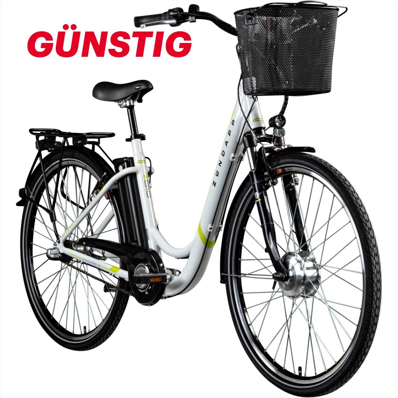 Zundapp E Damenrad 700c E Bike Pedelec Z510 Citybike