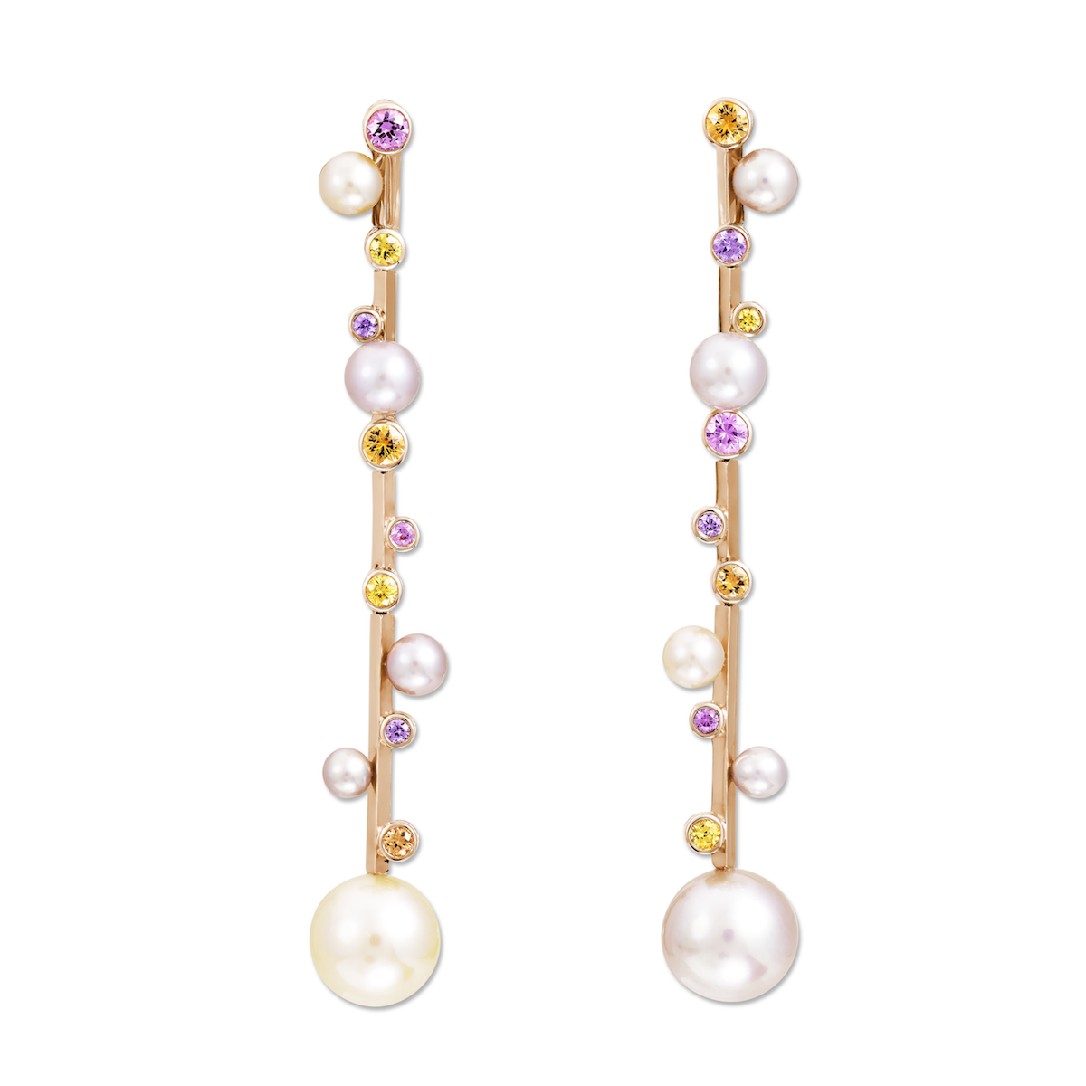 Angels glamourous pearl earrings forecast to wear for winter in 2019