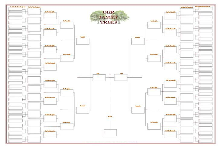 Blank Family Tree Templates Download Free Premium Family