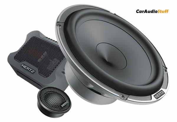 Hertz Mille Pro 6.5 2-Way Component Speaker Set MPK 165P.3 PRO #componentspeakers