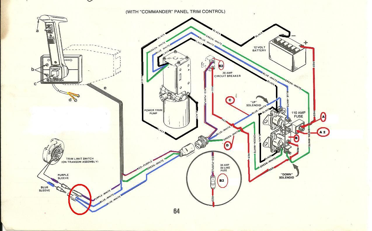 Mercruiser Trim Solenoid Wiring Diagram Electrical Diagram Diagram Design Boat Wiring