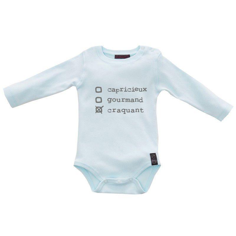 bb744110a56 Gigoteuse bébé rock et rigolote   gigoteuse rebelle noire naissance 6 mois   gaspardetzoe  bebechic