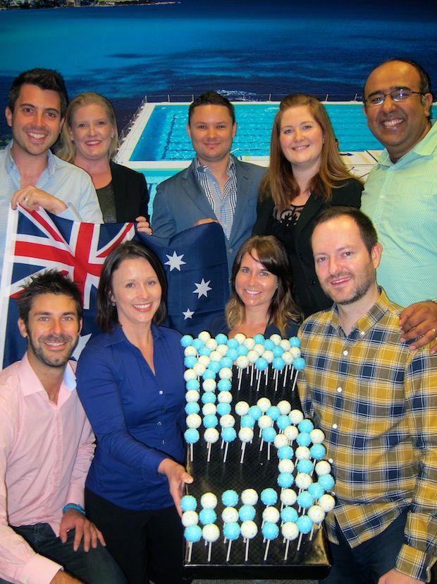 CELEBRATING 5 MILLION LINKEDIN MEMBERS IN AUSTRALIA